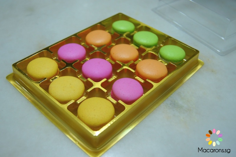 Chinese New Year Macarons In Singapore