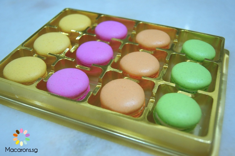 Chinese New Year Macarons In Singapore