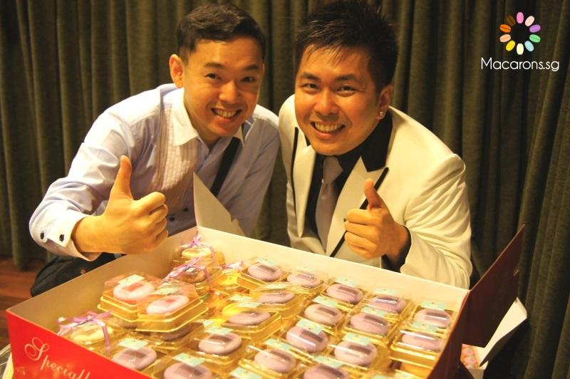wedding macarons in singapore