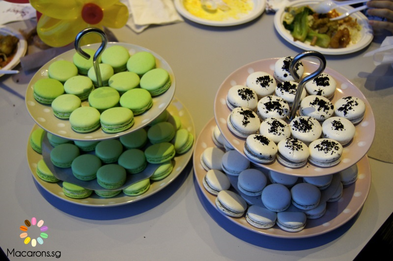 Birthday Macarons In Singapore