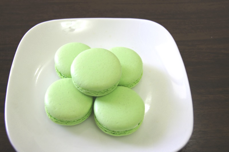 Macaron Recipe Singapore Lime Macarons in Singapore