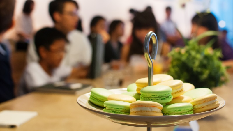 Showcasing My Macarons In Singapore At SODE