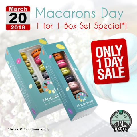 Macarons Day Singapore