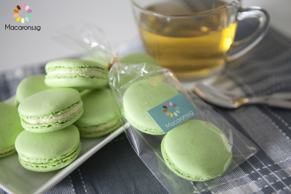 Durian Special Macarons In Singapore
