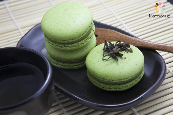 Hokkaido Green Tea Macarons In Singapore
