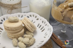 Home Made Peanut Butter Macarons
