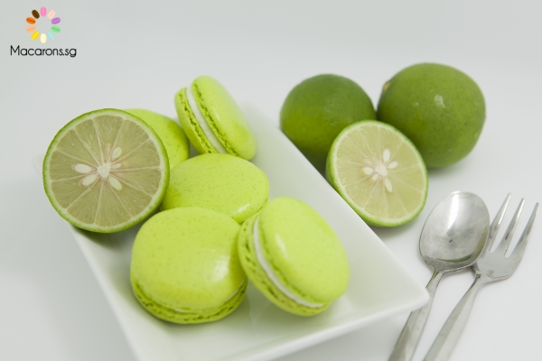 Mexican Key Lime Macarons In Singapore