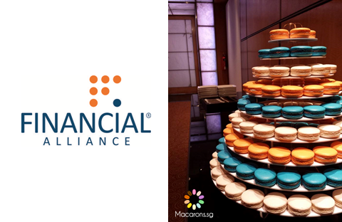 Financial Alliance Corporate Macarons In Singapore