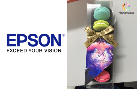 Epson Singapore Corporate Macarons In Singapore