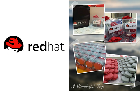 Red Hat Corporate Macarons In Singapore
