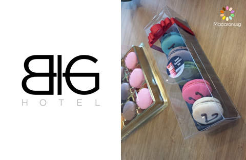BIG Hotel Corporate Macarons In Singapore