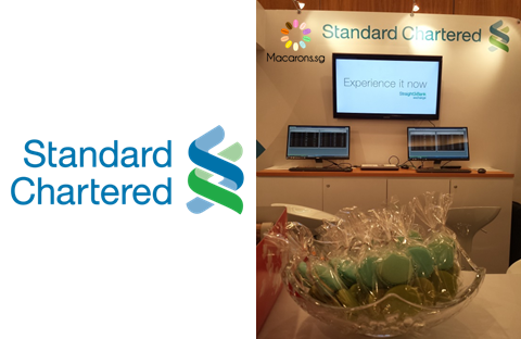 Standard Chartered Corporate Macarons In Singapore