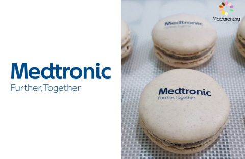 Medtronic Corporate Macarons In Singapore
