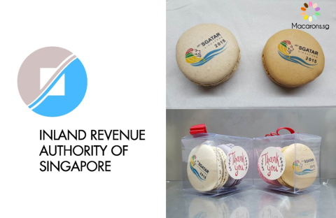 IRAS Corporate Macarons In Singapore