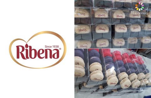 Ribena Corporate Macarons In Singapore