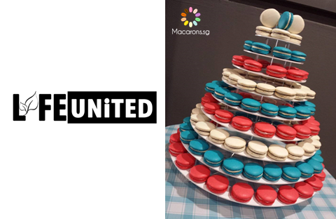 Life United Church Macarons In Singapore