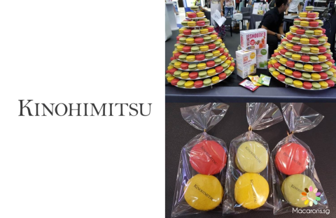 Kinohimitsu Corporate Macarons In Singapore