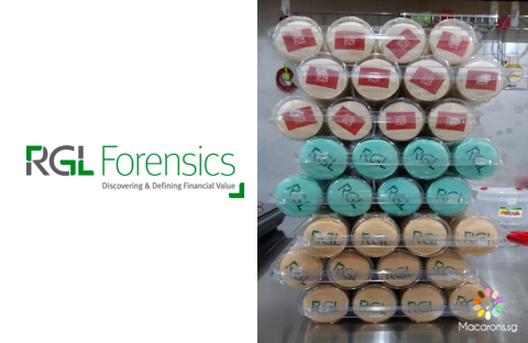 RGL Forensics Printed Macarons