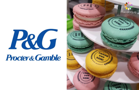 Procter and Gamble Printed Macarons