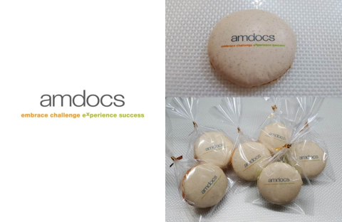 Amdocs Printed Macarons In Singapore