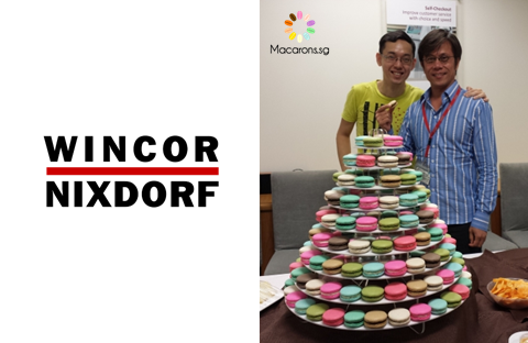 Wincor Nixdorf Corporate Macarons In Singapore