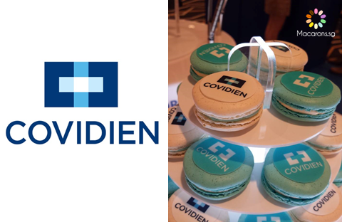 Covidien Medical Corporate Macarons In Singapore