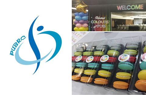 PUBRC Corporate Macarons In Singapore