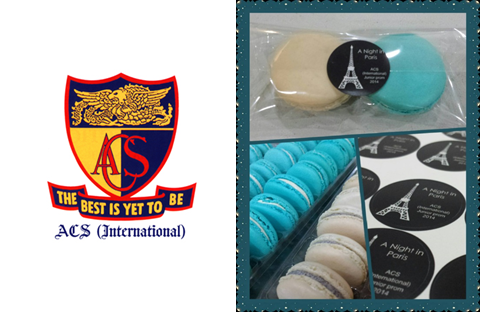 ACS Independent Corporate Macarons In Singapore