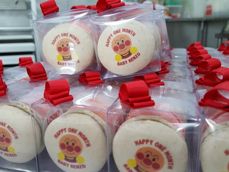 printed macarons
