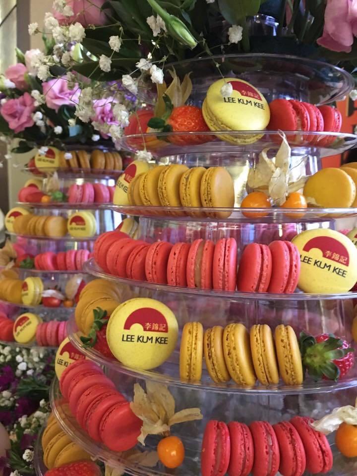 Lee Kum Kee Printed Macarons