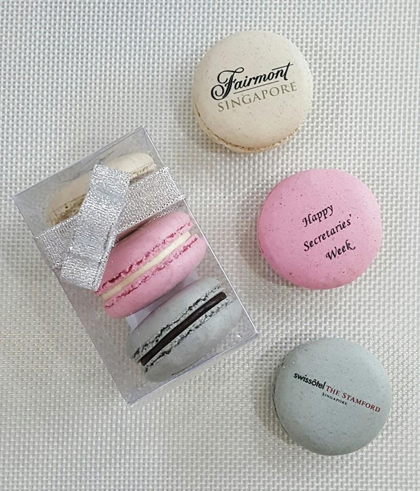 Corporate Macarons In Singapore