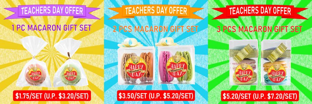 Teachers Day Macarons Offer 2020