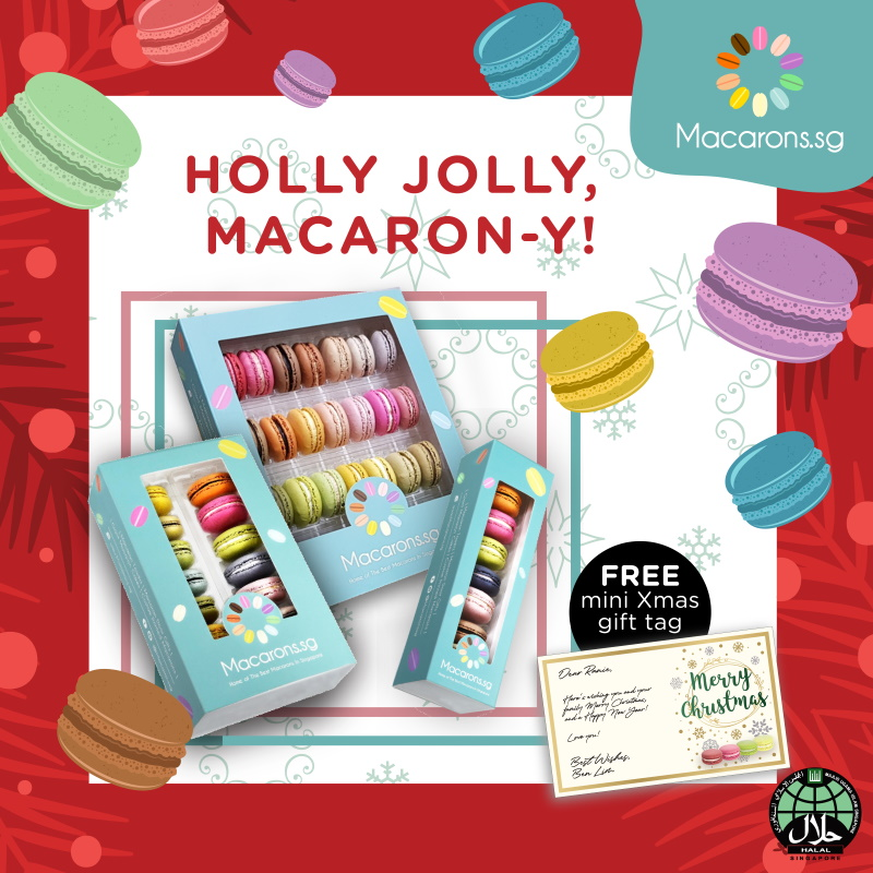 Macarons.sg Xmas gift sets