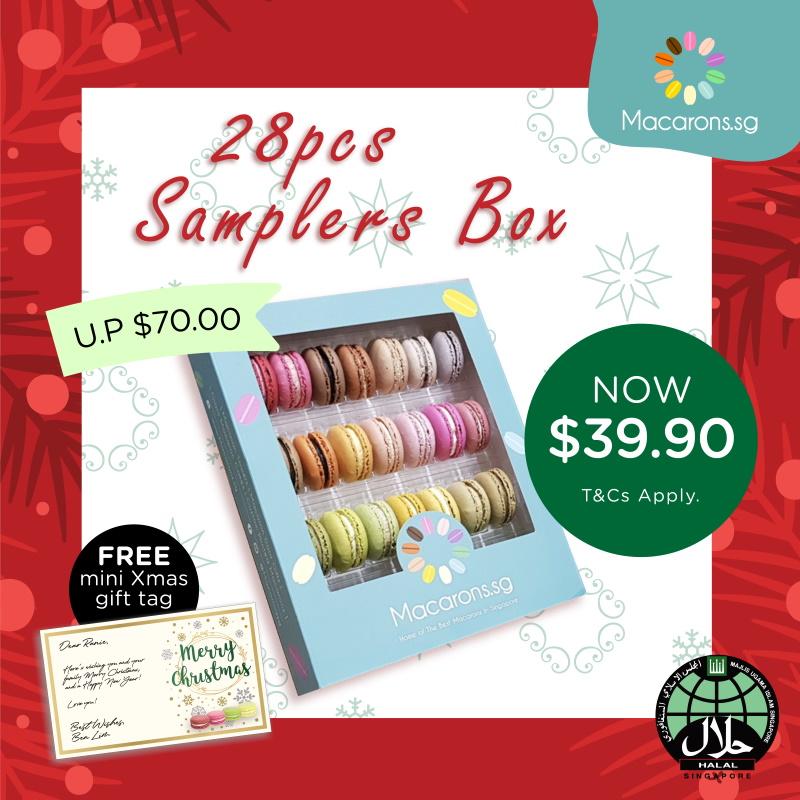 Macarons.sg 28pcs Samplers Box Set
