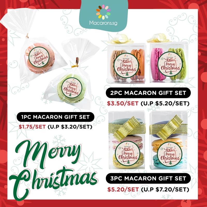 Macarons.sg Xmas Mini Gift Sets