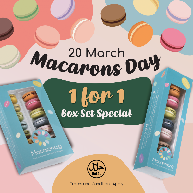 World Macaron Day 2021 Singapore