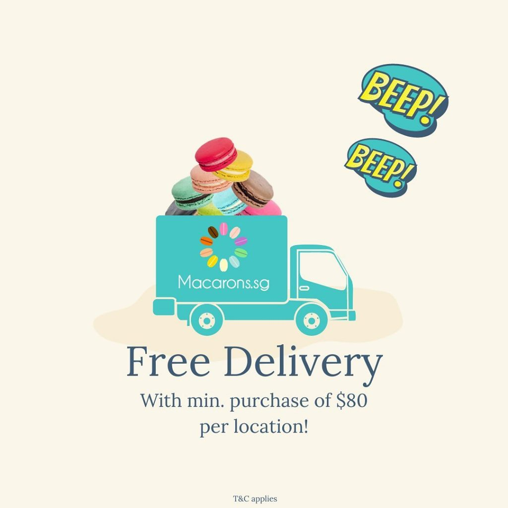 Macarons.sg Free delivery