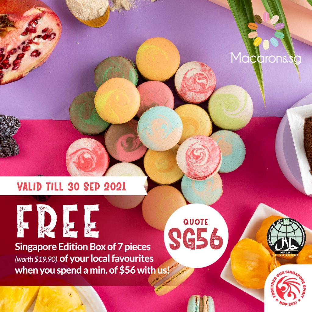 Macarons.sg National Day Macarons